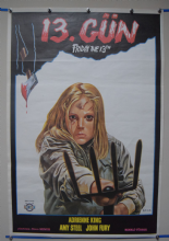 Friday the 13th (1980) Film Poster -  Turkish Poster